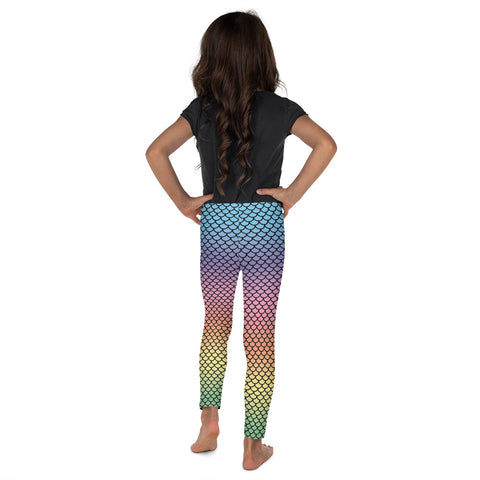 Rainbow Mermaid Kid´s Leggings | Leggings Niños Sirenas