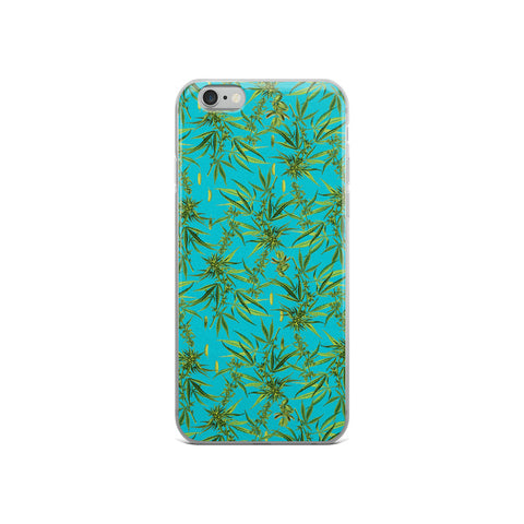 Cannabis Plant iPhone Case | Funda de iPhone Cannabis Sativa