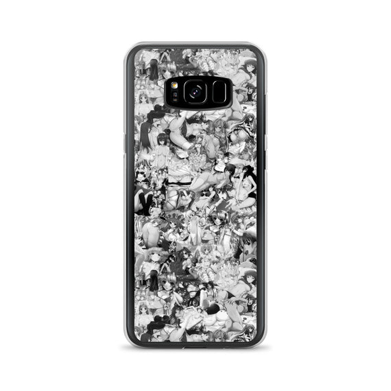 Hentai B&W Samsung Case-Phone Cases-Eat me!