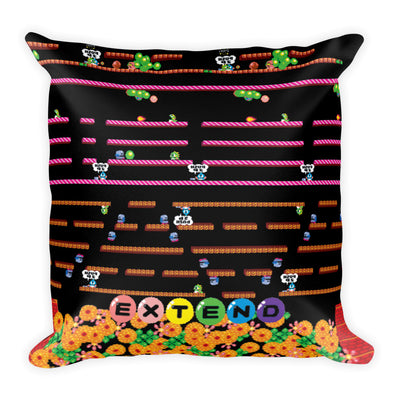 Bubble Bobble Pillow-Pillow Cases-Eat me!