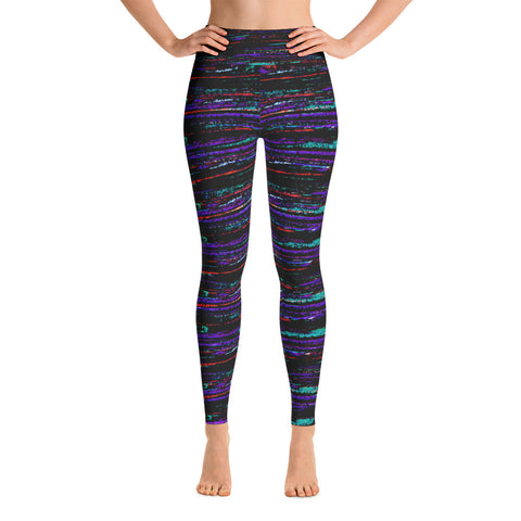 Ruido Surf Yoga Leggings-Yoga Leggings-Eat me!