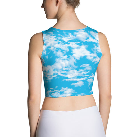 Clouds Crop Top | Crop Top Nubes