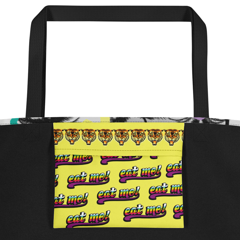 Palms Beach Bag | Bolso de Playa Palmeras-Beach Bags-Eat me!