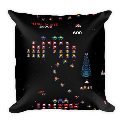 Galaga Pillow-Pillow Cases-Eat me!