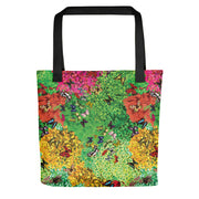 Plants & Butterflies Tote Bag-Tote Bags-Eat me!