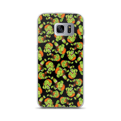 Blanka Street Fighter Samsung Case | Funda de Samsung Blanka Street Fighter