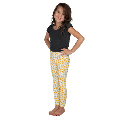 Fried Eggs Kid´s Leggings-Kids Leggings-Eat me!