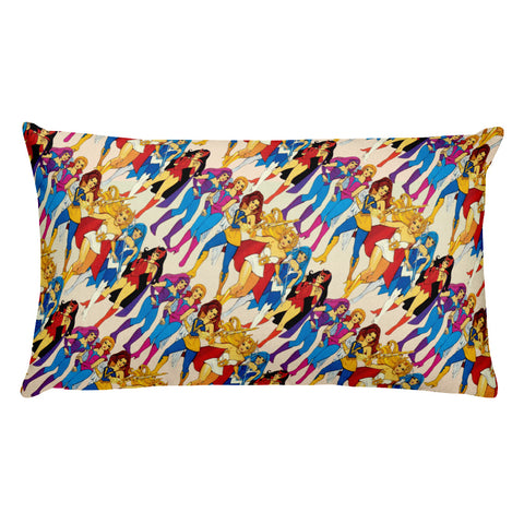 She-ra & Wizards Rectangular Pillow | Cojín Rectangular She-ra & Hechiceras