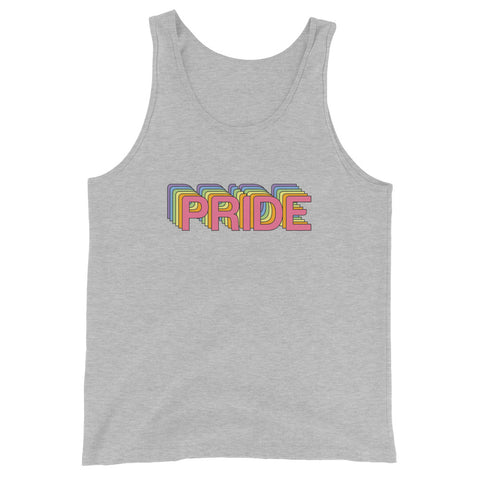 Pride Pastel Unisex Tank Top-Sleeveless Shirt-Eat me!