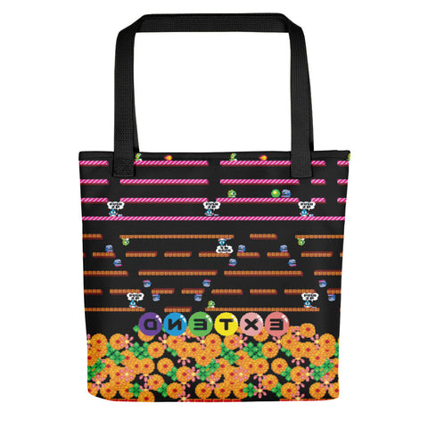 Bubble Bobble Tote Bag | Tote Bag Bubble Bobble