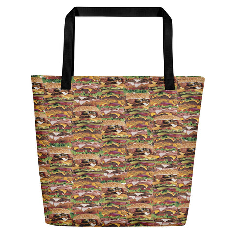 Xtra Burguer Beach Bag | Bolso de Playa Hamburguesa