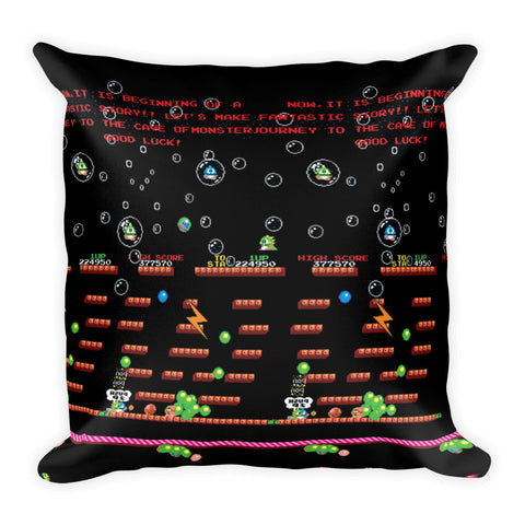 Bubble Bobble Pillow | Cojín Bubble Bobble