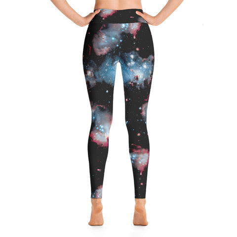 Nebula Yoga Leggings-Yoga Leggings-Eat me!