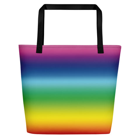 Rainbow Beach Bag | Bolso de Playa Arco Iris