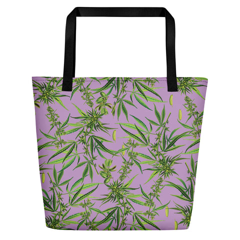 Cannabis Sativa Beach Bag | Bolso de Playa Cannabis Sativa
