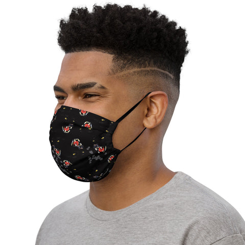 Black Panther Face Mask-Face Masks-Eat me!