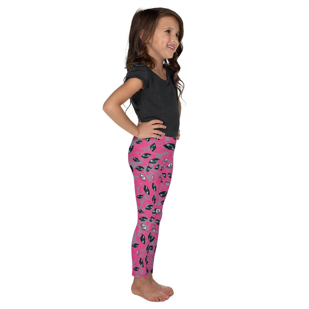 Eyes Kid´s Leggings | Leggings Niños Ojos-Kids Leggings-Eat me!
