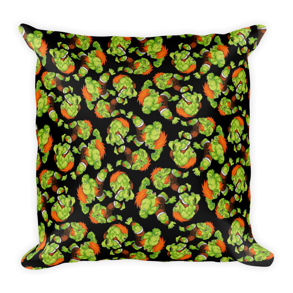 Blanka Street Fighter Pillow | Cojín Blanka Street Fighter-Pillow Cases-Eat me!