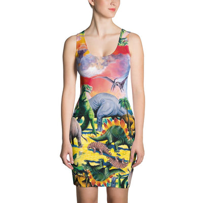 Dinosaur Dress-Dresses-Eat me!