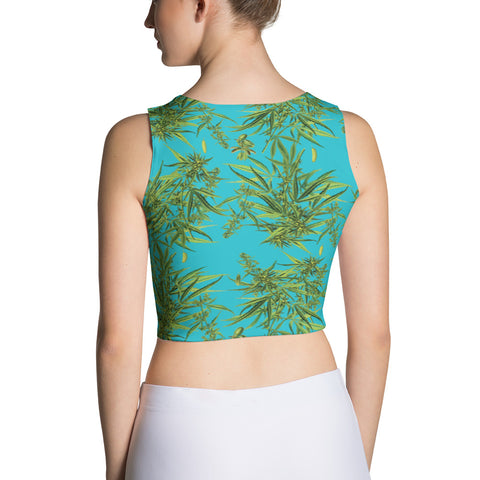 Cannabis Sativa Crop Top | Crop Top Cannabis Sativa