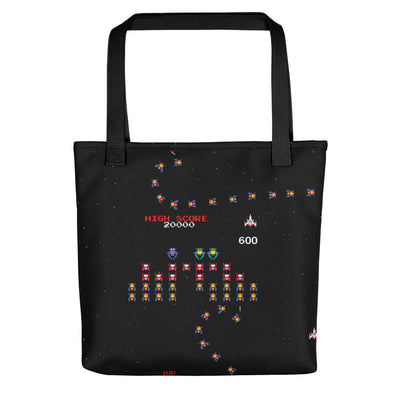 Galaga Tote Bag-Tote Bags-Eat me!