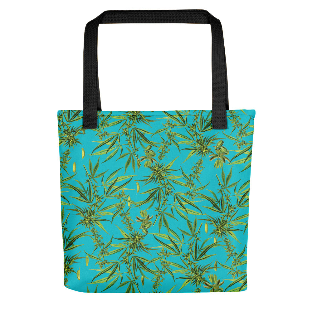 Cannabis Sativa Tote Bag | Tote Bag Cannabis Sativa-Tote bags-Eat me!