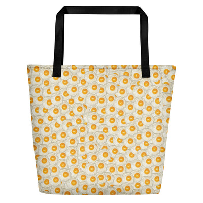 Fried Eggs Beach Bag-Accessories-Eat me!