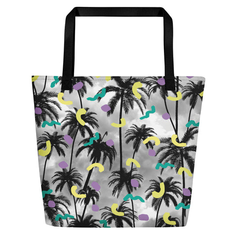 Palms Beach Bag | Bolso de Playa Palmeras