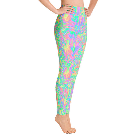 Acid Pastel Yoga Leggings-Yoga Leggings-Eat me!