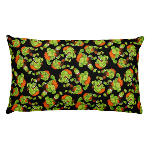 Blanka Street Fighter Rectangular Pillow | Cojín Rectangular Blanka Street Fighter