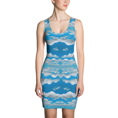 Clouds Dress-Dresses-Eat me!