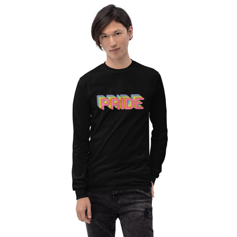 Men's Long Sleeve Shirt-Eat me!