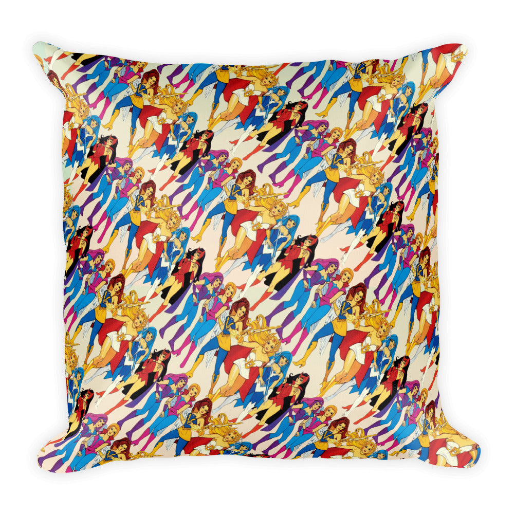 She-ra & Wizards Pillow | Cojín She-ra & Wizards-Pillow Cases-Eat me!
