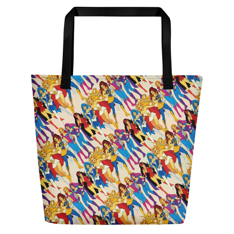 She-ra & Wizards Beach Bag | Bolso de Playa She-ra & Hechiceras