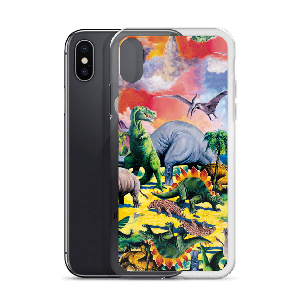 Dinosaur iPhone Case | Funda de iPhone Dinosaurios-Phone Cases-Eat me!