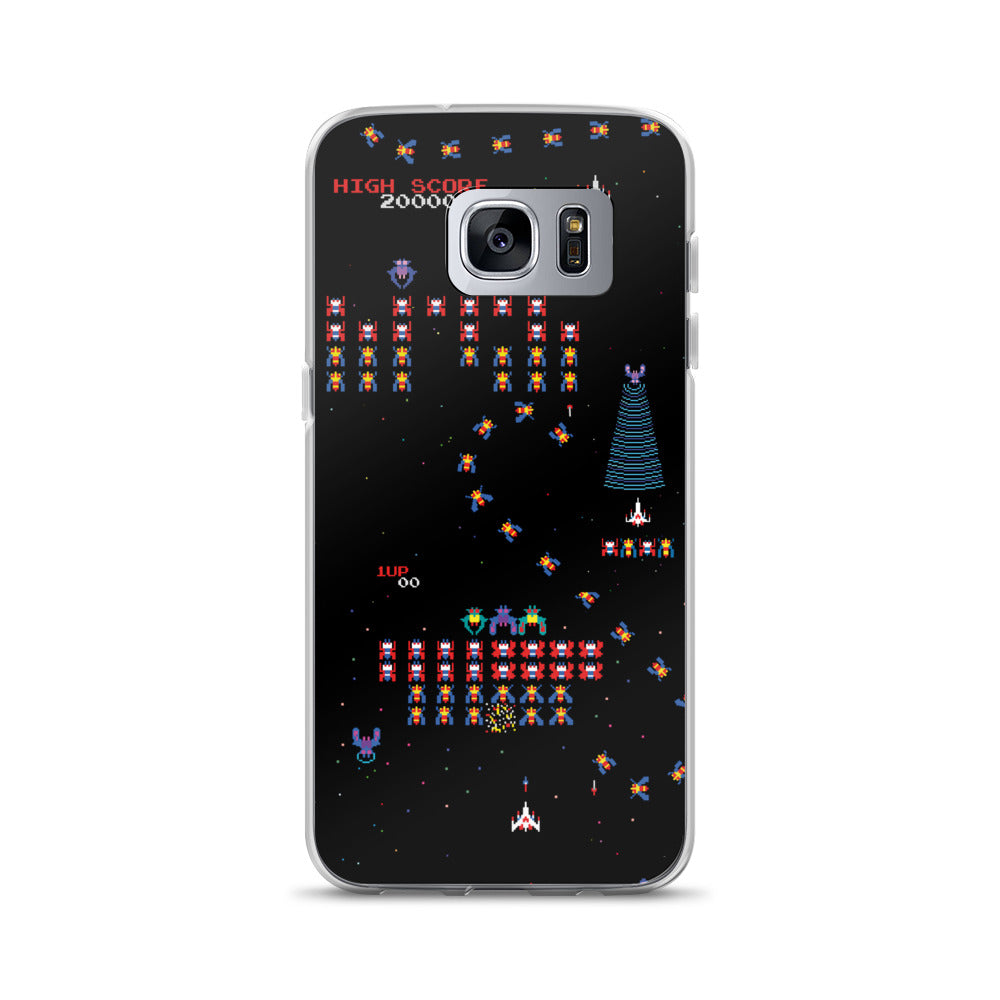 Galaga Samsung Case | Funda de Samsung Galaga-Phone Cases-Eat me!
