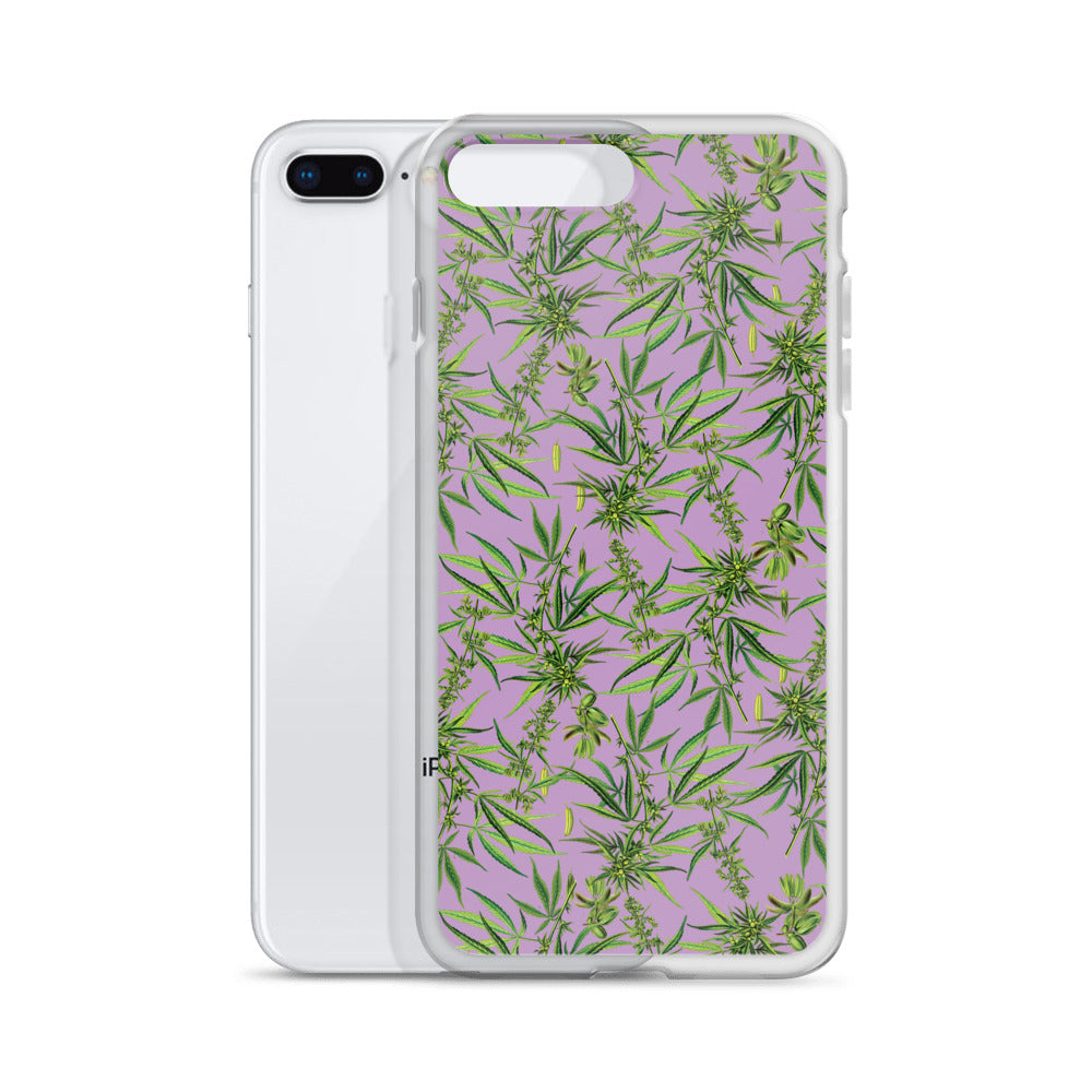 Cannabis Plant iPhone Case | Funda de iPhone Cannabis Sativa-Phone Cases-Eat me!