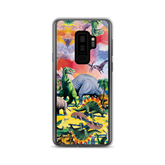 Dinosaur Samsung Case | Funda de Samsung Dinosaurios-Phone Cases-Eat me!