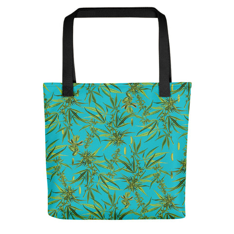 Cannabis Sativa Tote Bag | Tote Bag Cannabis Sativa