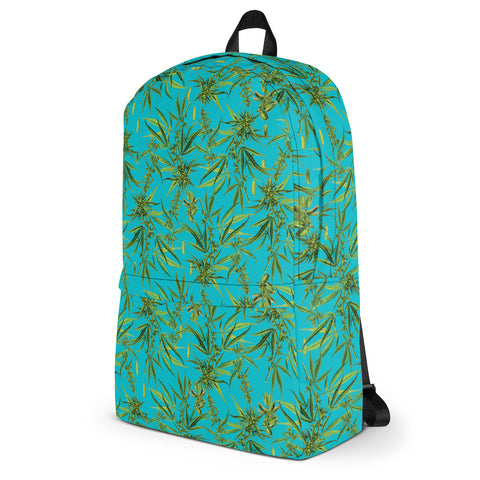 Cannabis Sativa Backpack-Accessories-Eat me!