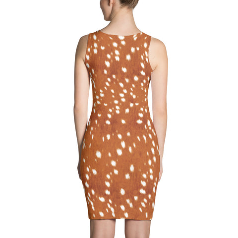 Bambi Deer Bodycon Dress