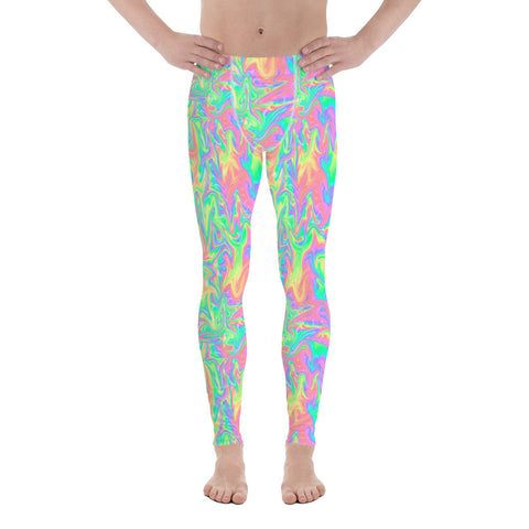 Acid Pastel Rave Trip Meggings-Meggings-Eat me!