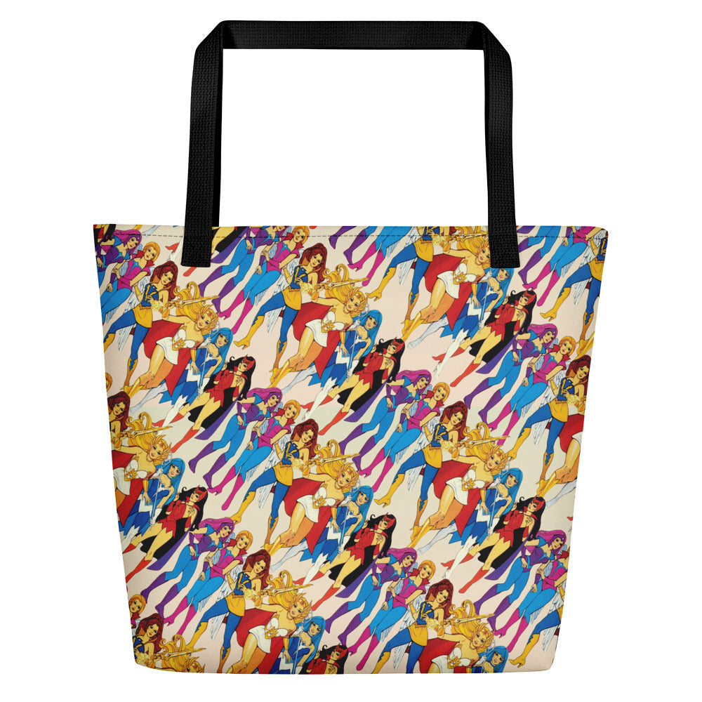 She-ra & Wizards Beach Bag | Bolso de Playa She-ra & Hechiceras-Beach Bags-Eat me!