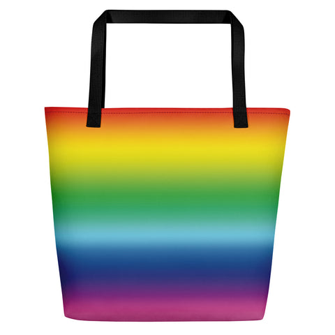Rainbow Beach Bag-Tote Bags-Eat me!