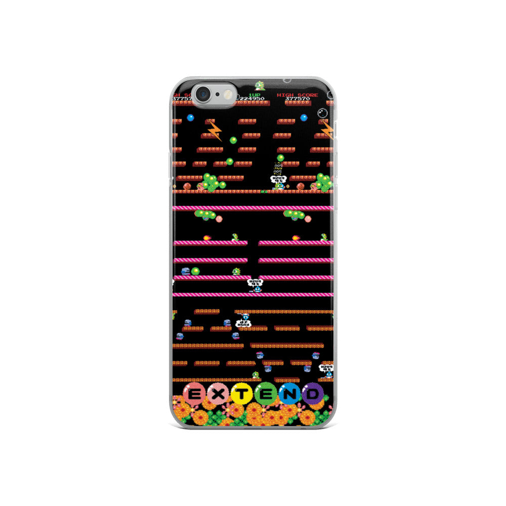 Bubble Bobble iPhone Case | Funda de iPhone Bubble Bobble-Phone Cases-Eat me!