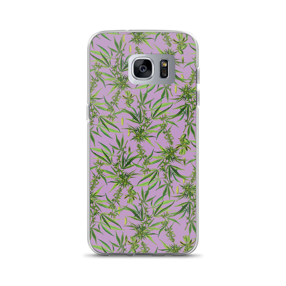 Cannabis Sativa Samsung Phone Case | Funda de Samsung Cannabis Sativa-Phone Cases-Eat me!