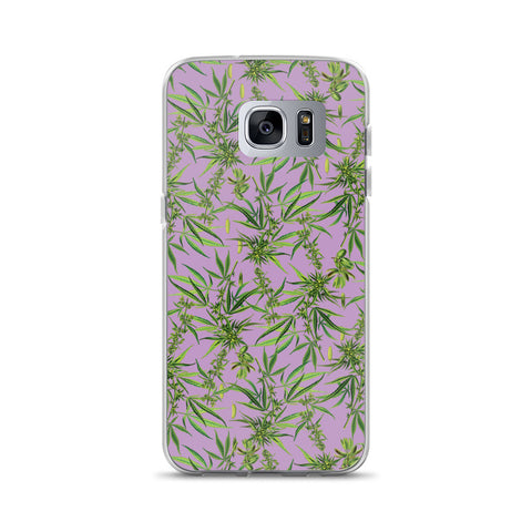 Cannabis Sativa Samsung Phone Case | Funda de Samsung Cannabis Sativa