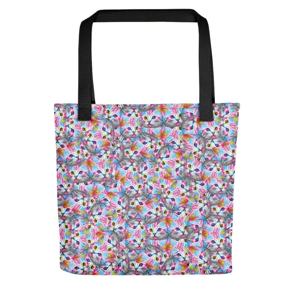 Cats Tote Bag | Tote Bag Gatitos-Tote bags-Eat me!