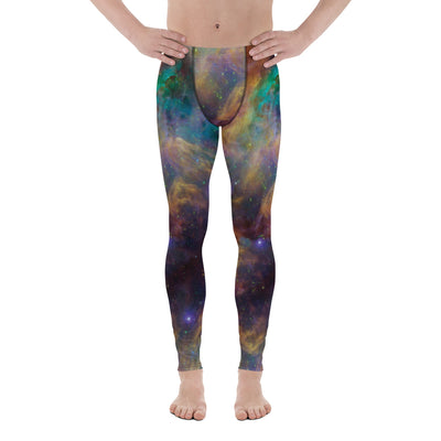 Orion Galaxy Men's Leggings-Meggings-Eat me!