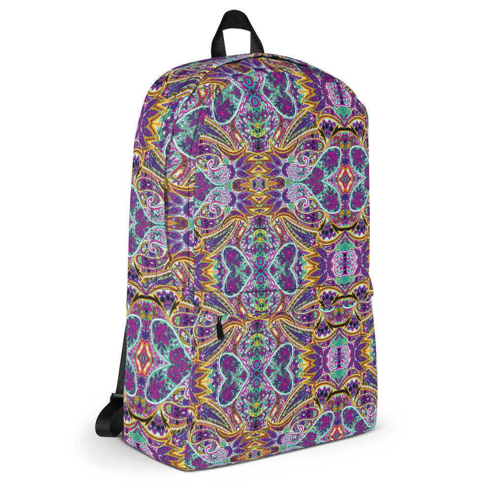 Paisley Backpack | Mochila Paisley-Backpacks-Eat me!